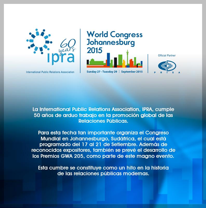 Congreso Internacional IPRA 2015
