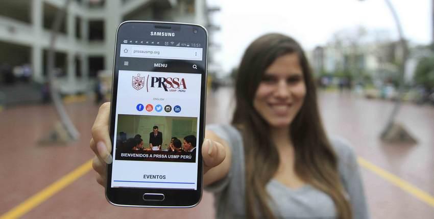 Capítulo De Estudiantes PRSSA-USMP-PERÚ Lanza Su Sitio Web