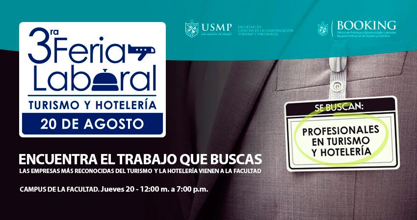 3ra. Feria Laboral De Turismo Y Hotelería De La USMP