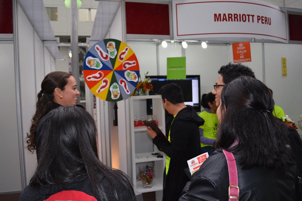 Andrea Guerra, Egresada De La EPTH Y Actual Gerente De Recursos Humanos De JW Marriott Lima