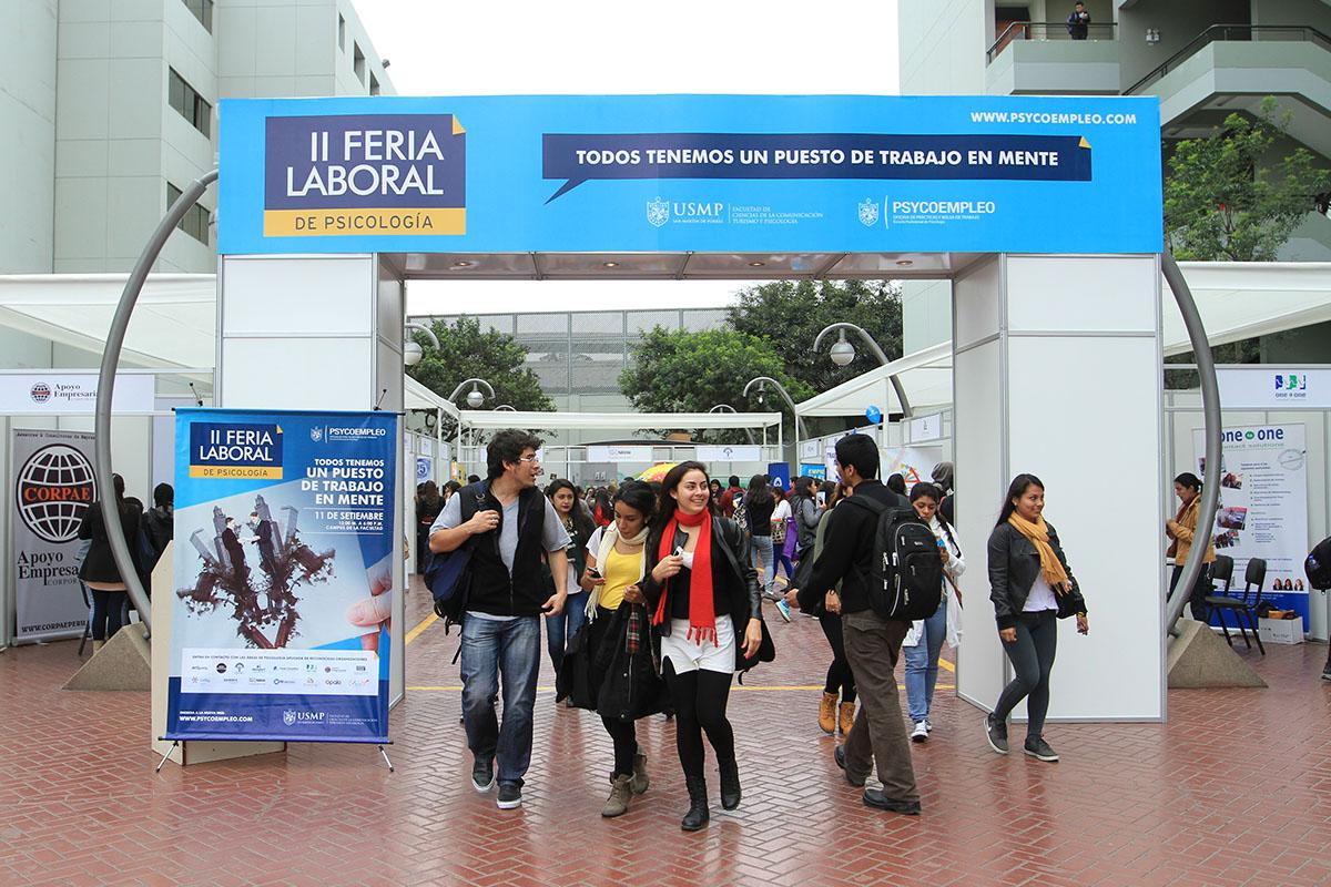II Feria Laboral De Psicología Tuvo Gran Acogida