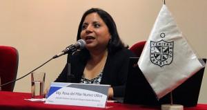 Pilar Núñez, Jefa de Gestión Social de la Línea 1 del Metro de Lima
