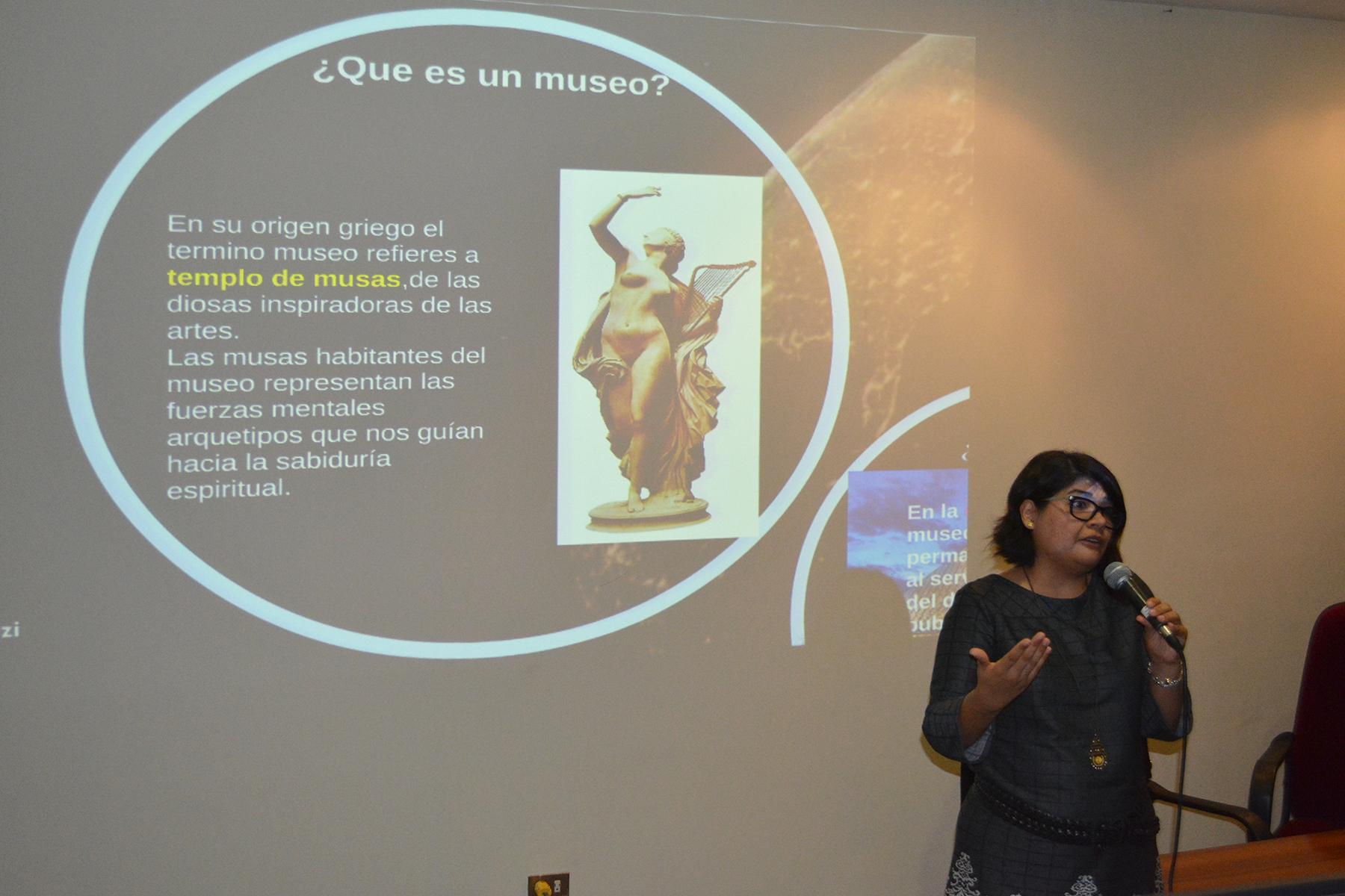 AEGEPTH Realizó Taller Sobre Nuevas Tendencias En Museología