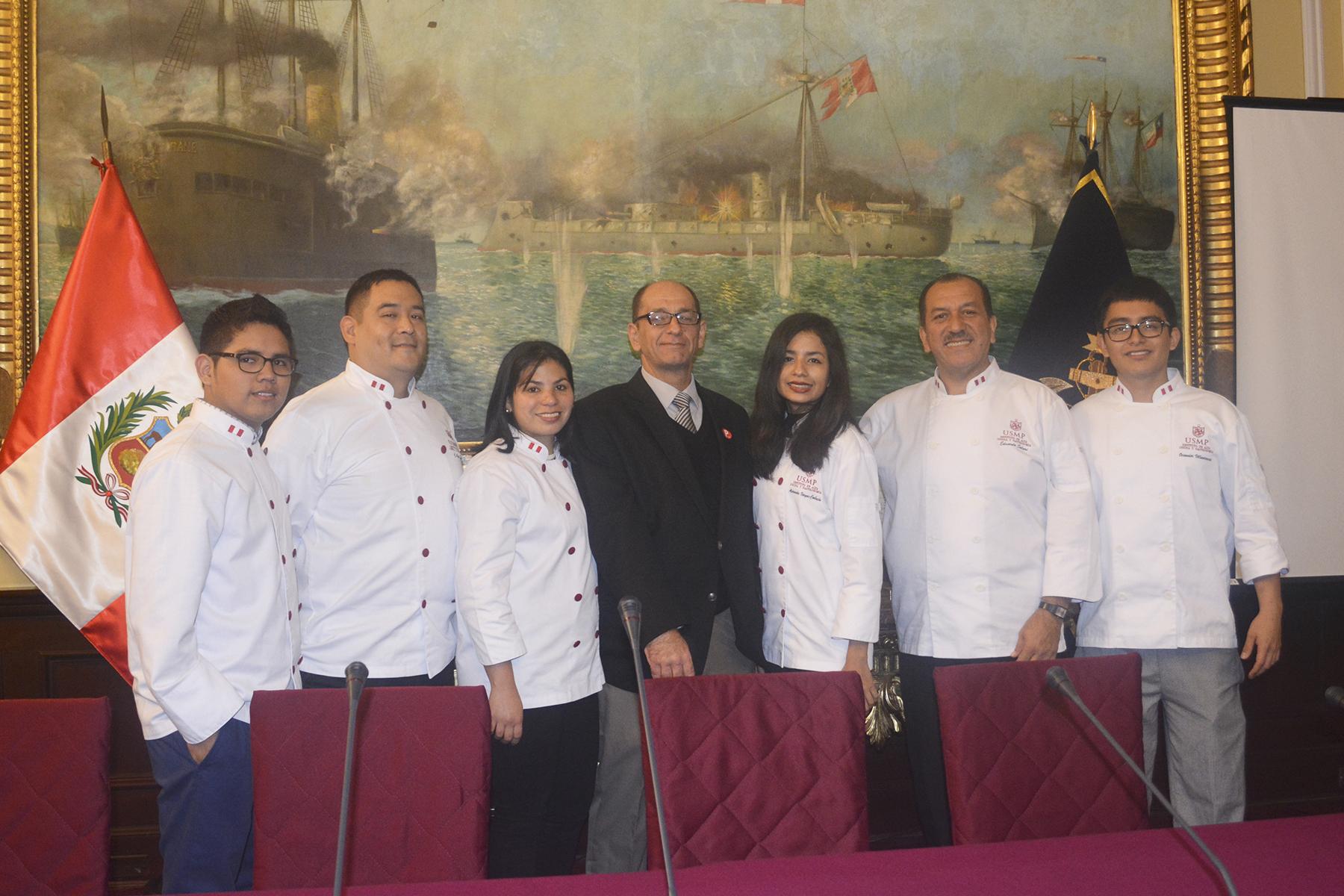 IACG Participó En Homenaje A Chef Toshiro Konishi En El Congreso De La República