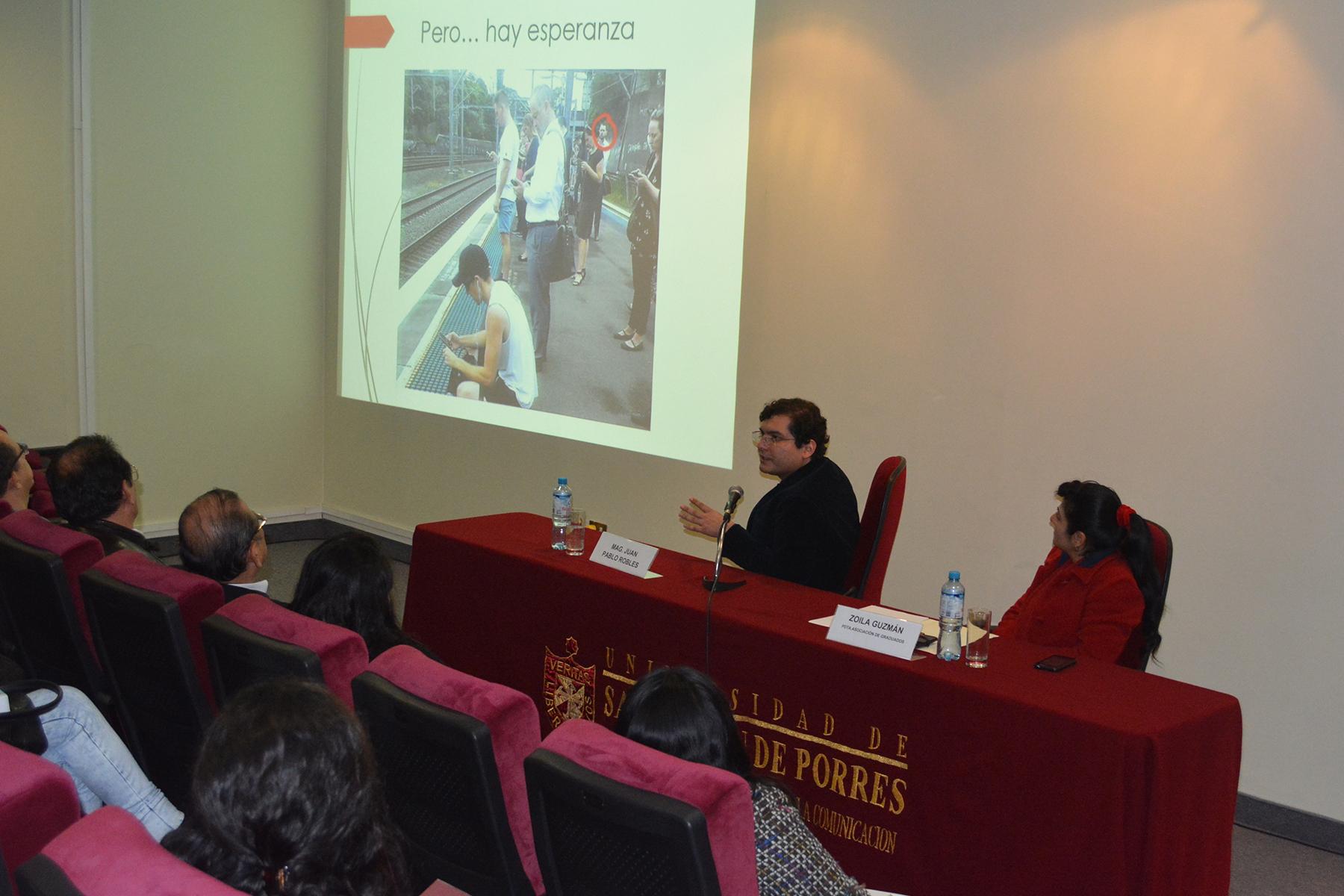 AGEPCC Realizó Conferencia Sobre Periodismo Transmedia Y Medios Digitales
