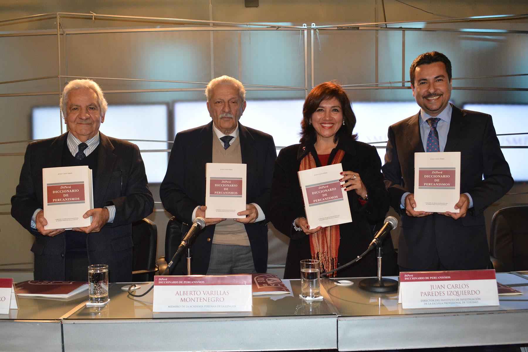 Academia Peruana De La Lengua Presenta DiPerú: Diccionario De Peruanismos En La FCCTP