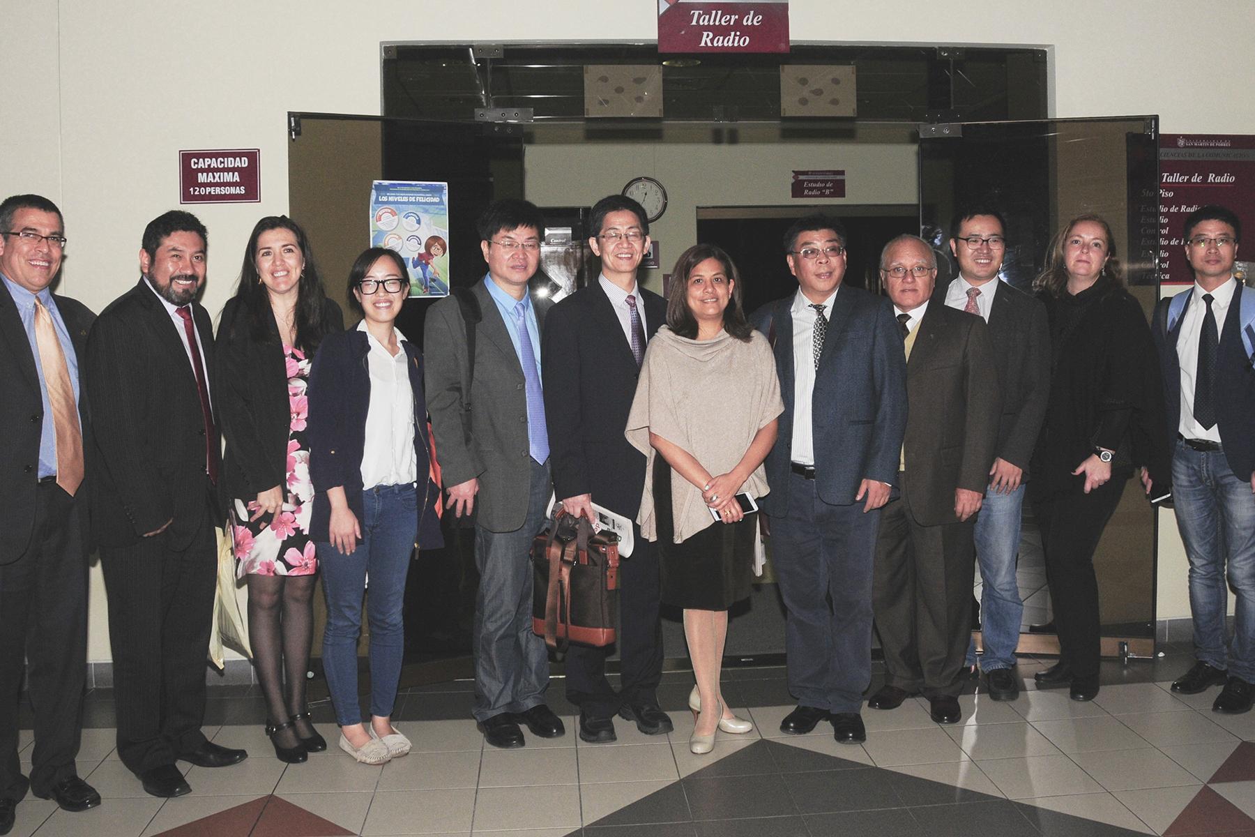 Delegación De La Universidad De Zhejiang Visitó La FCCTP