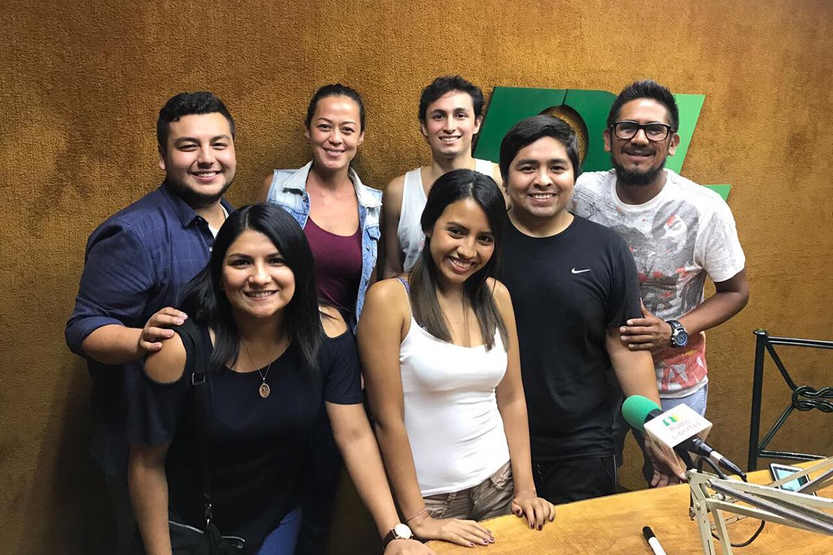 Programas Producidos Y Conducidos Por Alumnos Del Área De Radio De La USMP Se Emiten En Radio Libertad