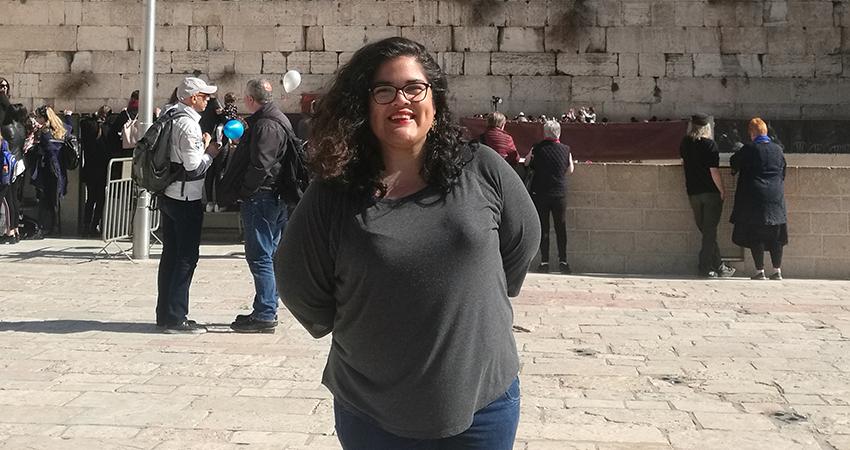 Egresada De La FCCTP Es La Primera Peruana En Cursar Importante Maestría En El Medio Oriente