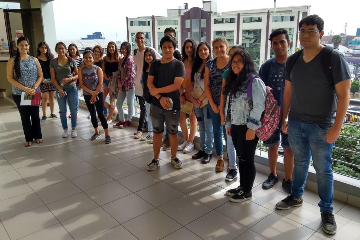 Alumnos De I Ciclo De Turismo Participaron En Programa De Inducción