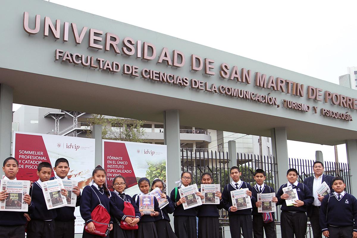 Institución Escolar Visita La FCCTP