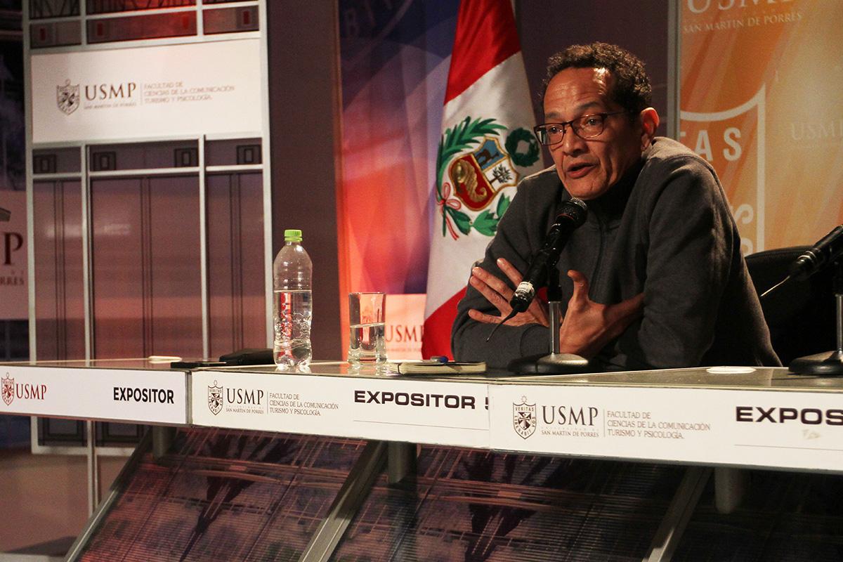 """Área De Televisión Inició Exitoso Ciclo De Conferencias """"El Documental En El Perú"""""""