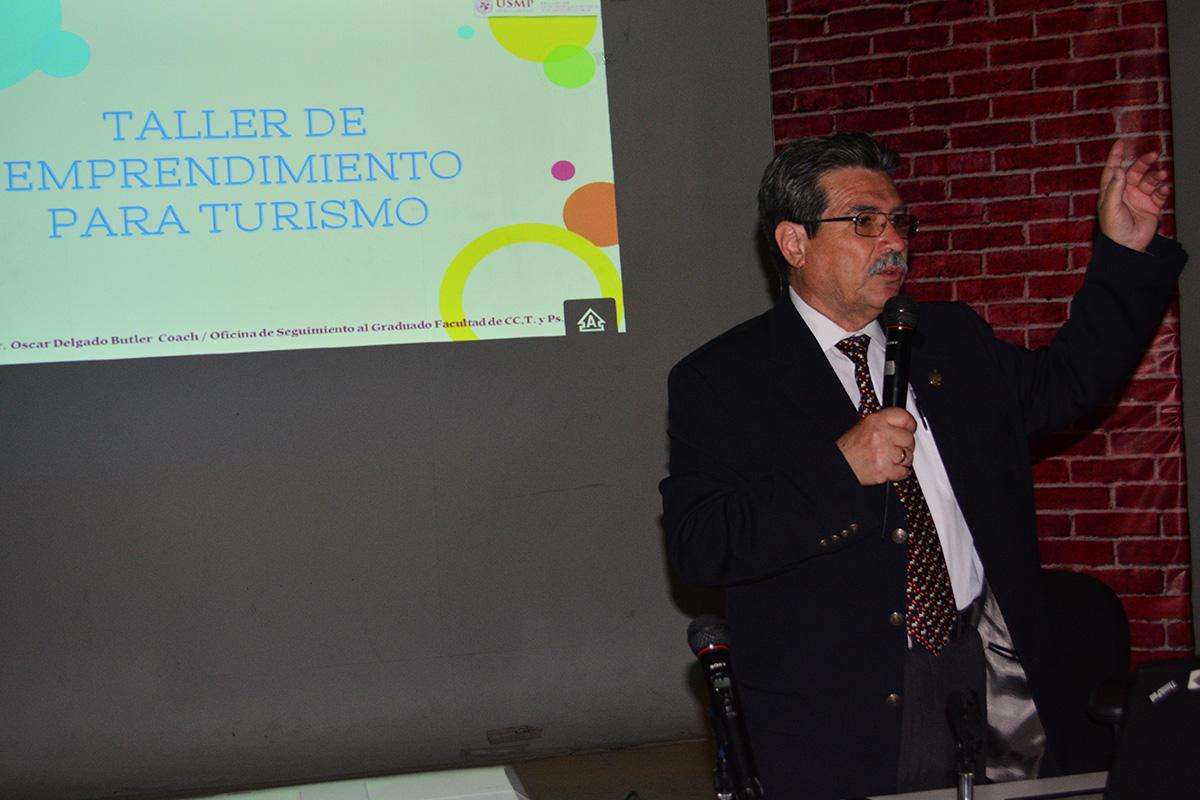 Oficina De Seguimiento Al Graduado Organizó Charla Sobre La Importancia Del Emprendimiento En El Mundo Turístico