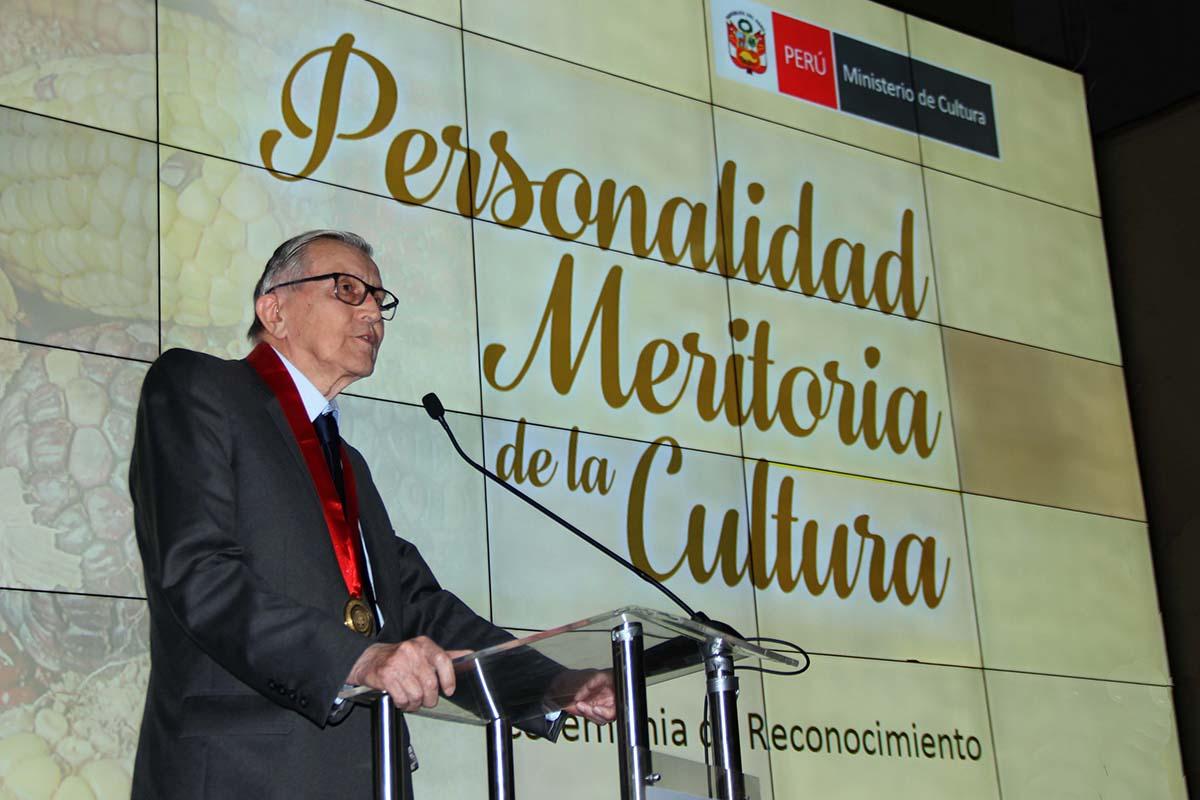 Johan Leuridan Huys: Personalidad Meritoria De La Cultura