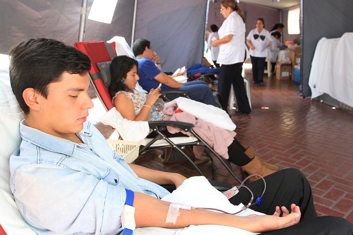Un Día De Donación De Sangre En La FCCTP