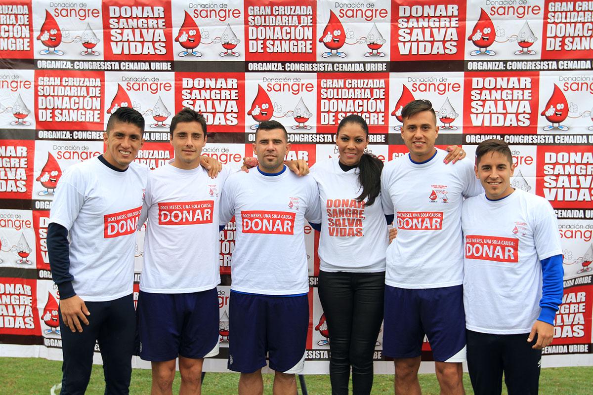 Equipo De La San Martín Se Apunta A La Campaña De Donación De Sangre
