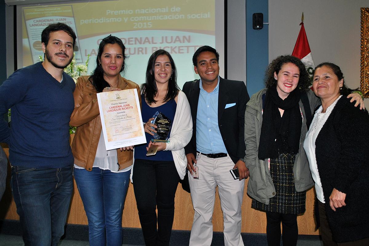 Alumnos Del Taller De Televisión Ganaron Premio Nacional De Periodismo