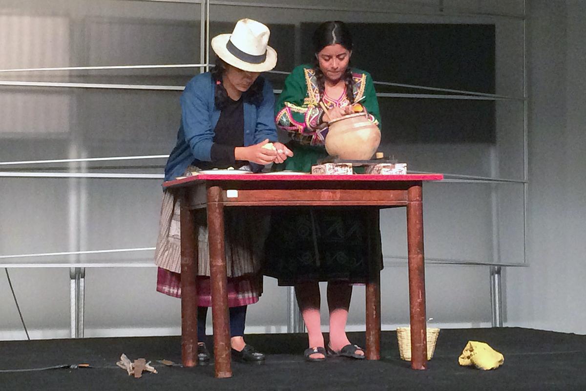 Valentinas-Valichas, Una Interesante Obra Teatral En La FCCTP