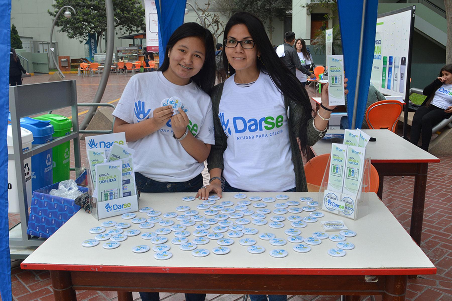Voluntarios De DARSE Realizaron Campaña Informativa Sobre Reciclaje