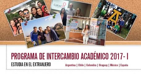 Estudia En El Extranjero A Través Del Programa De Intercambio Académico 2017-I