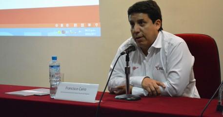 Francisco Cairo Comparte Su Experiencia Con Los Alumnos De La FCCTP