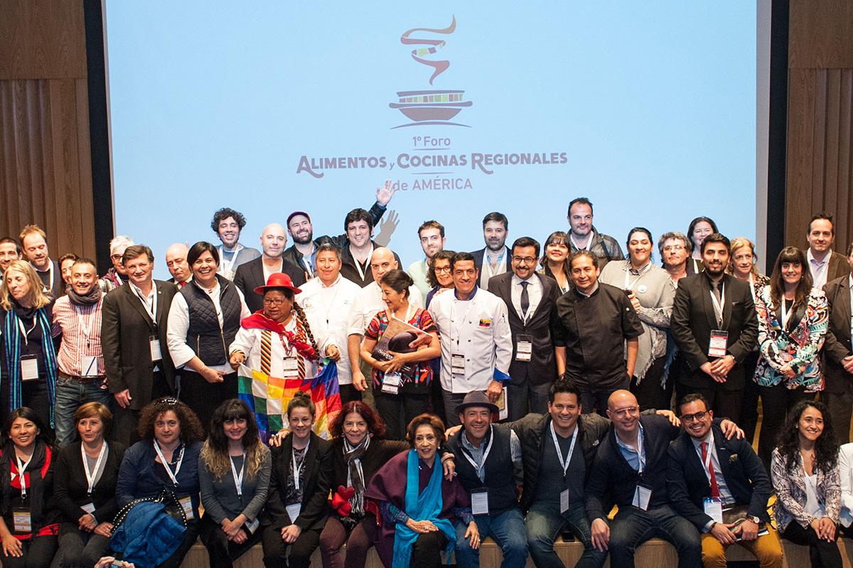 USMP Presente En El Primer Foro De Alimentos Y Cocinas Regionales De América