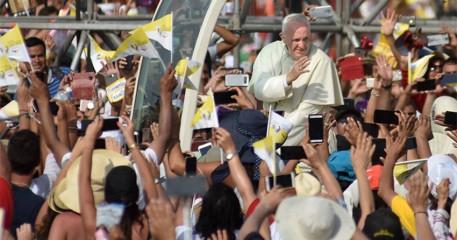 Impresionantes Fotos De Visita Del Papa Francisco